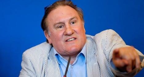 Depardieu slams government on Paris visit