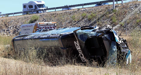 Fatal bus crash suspect had 'paranoid delusions'