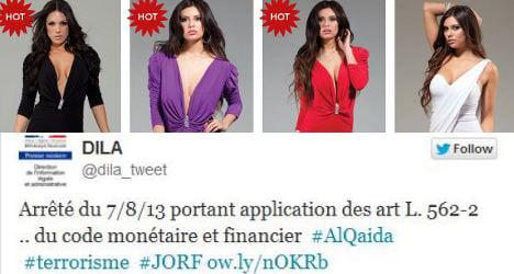 PM's Al Qaeda tweet links to sexy lingerie site