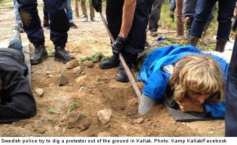 Swedes' anger mounts over Beowulf mine plans