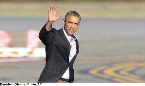 Stockholm braces for Obama traffic circus