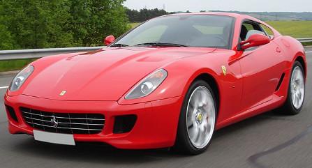 Footballer fouled by Ferrari thieves