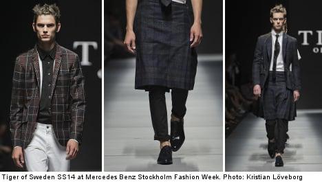 Tiger wants Swedish men to wear skirts