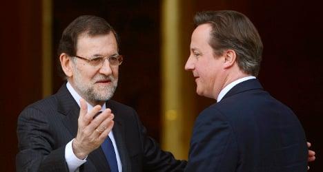 UK PM warns Spain over Gibraltar row