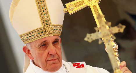 Pope Francis urges reconciliation in Egypt