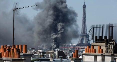 IN IMAGES: Huge blaze hits Paris mansion