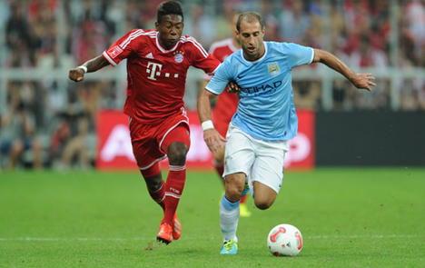 Bayern Munich bounce back to floor Man City