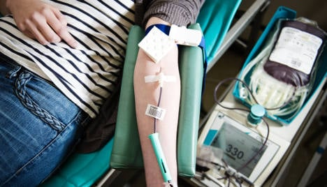 Blood donor barred as 'German too poor'