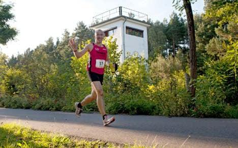 Runners ready for Berlin Wall ultra-marathon