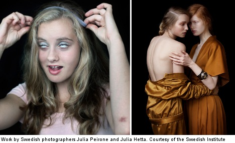 Sweden's hottest fashion photographers head west