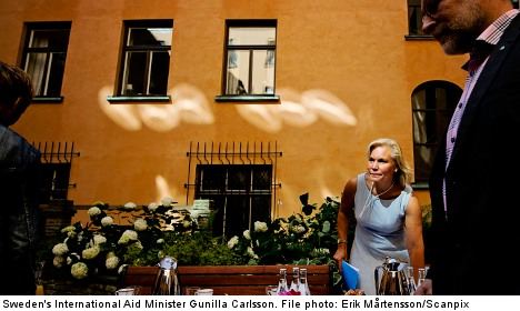 Sweden to keep women focus in Afghan aid