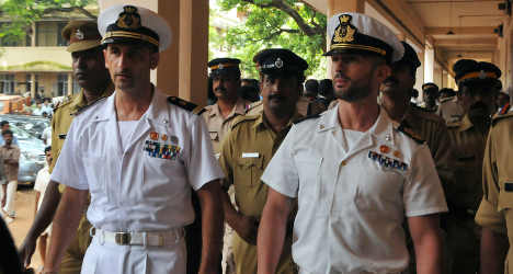 Marines refuse to go to India murder trial – report
