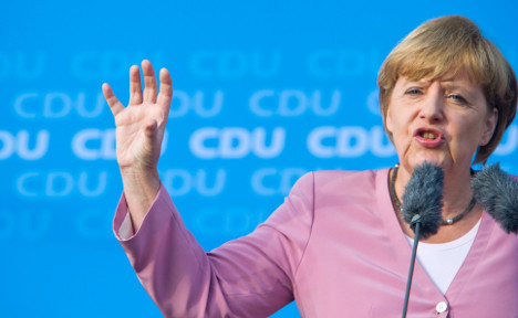 Merkel's coalition seems set for election victory