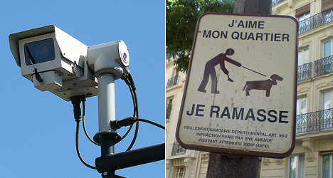 Paris suburb to use CCTV to fight dog poo 'plague'