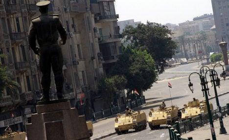 Germany cuts holidays after Egypt violence