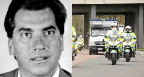 Mafia boss in London 'fears reprisal killing'