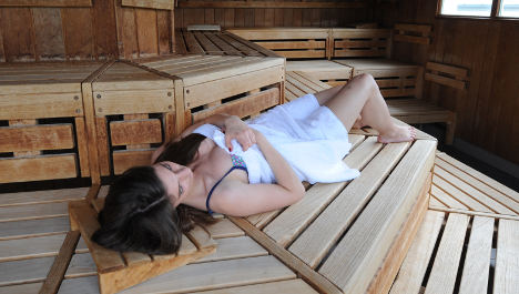 Cop claims sauna call-out led to new illness