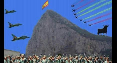 Spanish mayor posts 'Gibraltar invasion pic'