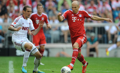 Ribery, Robben strike as Bayern win again