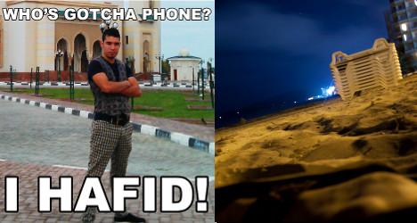 Ibiza phone thief 'world's most stupid'