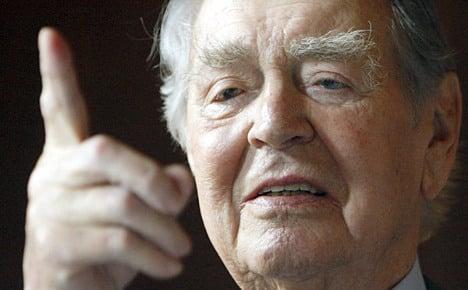 Germany's 'industrial Oskar Schindler' dies