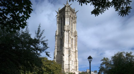 Historic Paris tower opens after 500 years