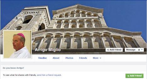Italian bishop baffled by fake Facebook profile