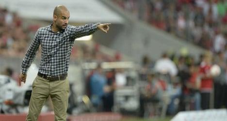 Barça's ex Guardiola aims for Bayern treble
