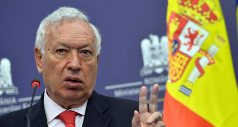 Spain's Foreign Minister slams UK in US press