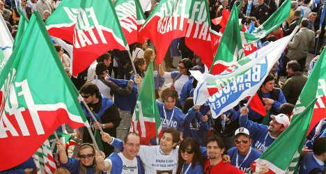 Berlusconi's Forza Italia campaign kicks off