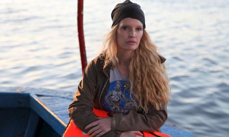 'Crybaby' Playboy model travels like refugee