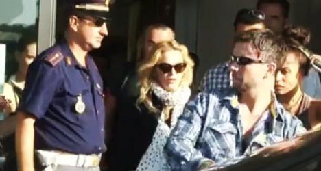 Madonna surprises Romans with gym visit