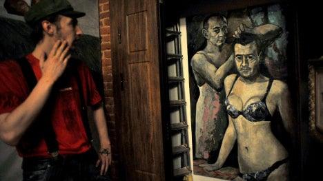'Putin in nightie' artist seeks asylum in France