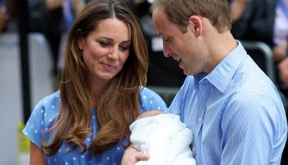 Royal baby sparks Italian flight boom to London