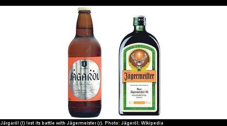 Jägermeister wins battle with Jägaröl brand beer