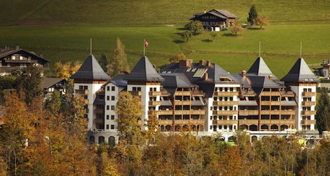 New Gstaad palace named hotel of the year