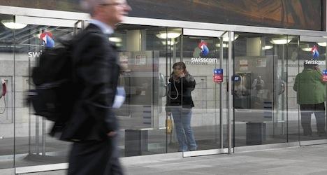 Swisscom results show big drop in profit