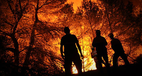 Three-quarters of Spain 'at extreme risk' of fires