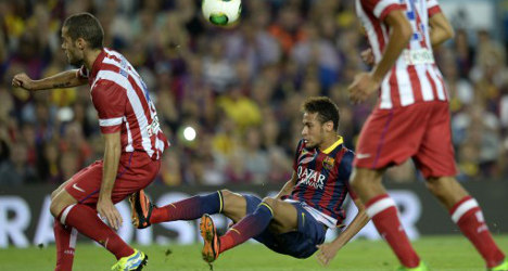 Barça clinch Super Cup on away goals