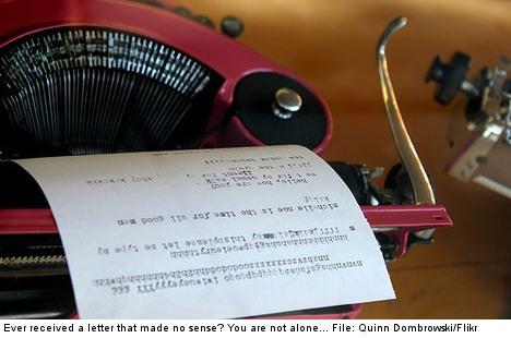 Linguist slams agency for gibberish letter