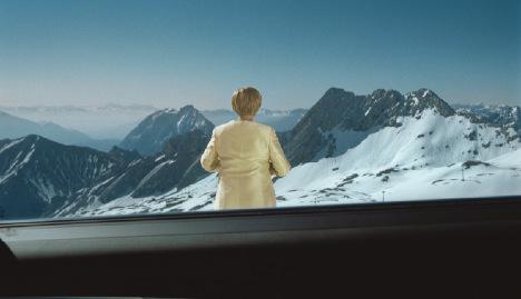 'Merkel' photos capture a German journey