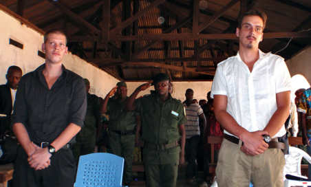 Norwegian strangled friend in cell: Congo