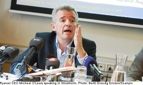 Ryanair CEO blasts 'nonsense' labour claims