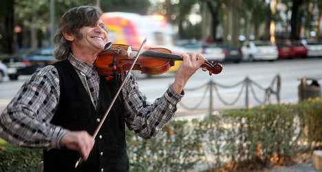 Madrid buskers to be tested for talent