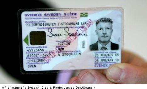 ID-card fraud 'epidemic' threatens Sweden