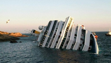 Costa Concordia wreck to be raised in September