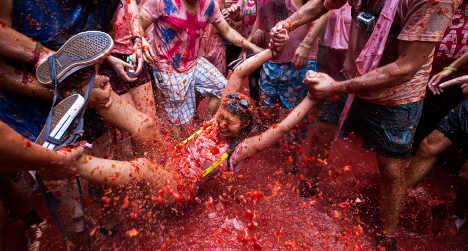 Spain's Tomatina festival 2013: Top photos