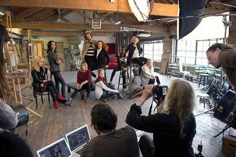 Leibovitz and her fashionable leading ladies