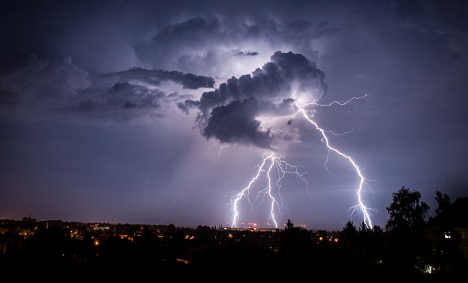 Violent storms injure dozens over weekend