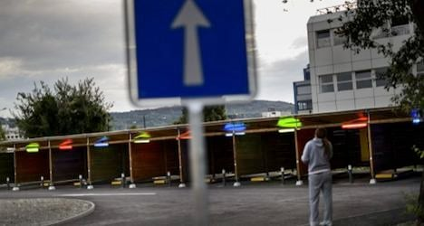 Zurich's drive-in 'sex boxes' off to slow start
